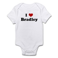 I Love Bradley Infant Bodysuit
