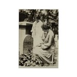 Alice Paul @ S. B. Anthony Grave Rectangle Magnet