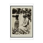 Alice Paul @ S. B. Anthony Grave Mini Poster Print