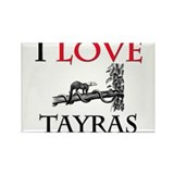 I Love Tayras Rectangle Magnet (10 pack)