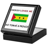 Somebody Loves Me In SAO TOMAE & PRINCIPE Keepsake