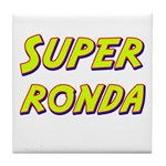 Super ronda Tile Coaster