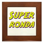 Super ronda Framed Tile