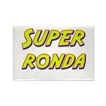 Super ronda Rectangle Magnet (10 pack)