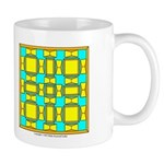 Dutch Gold And Yellow Design Mug
