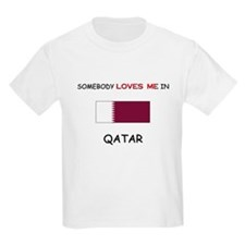 Somebody Loves Me In QATAR T-Shirt