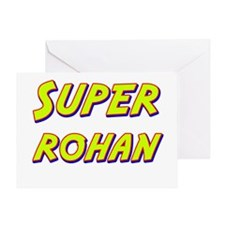 Super rohan Greeting Card