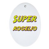 Super rogelio Oval Ornament