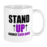 Elder Abuse Stand Up Mug