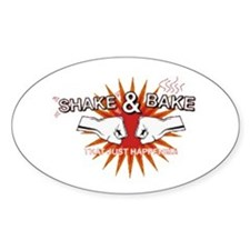 Shake & Bake Oval Decal
