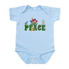 Peace Garden Infant Bodysuit