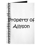 Unique Allyson Journal