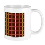 Orange And Yellow Latticework Mug