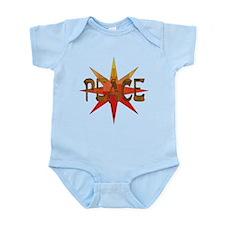 Peace Flowering Infant Bodysuit
