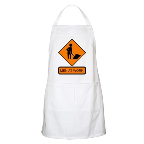 Men at Work 2 BBQ Apron