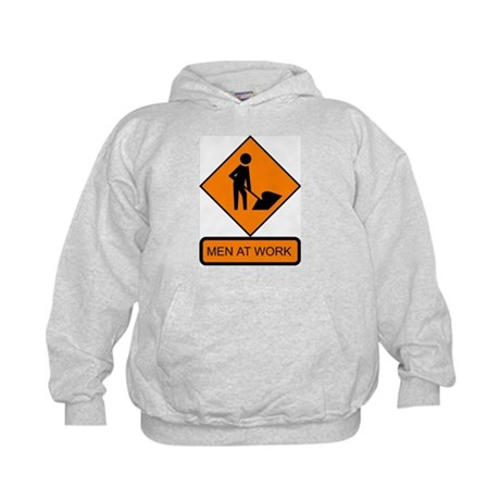 Men at Work 2 Kids Hoodie
