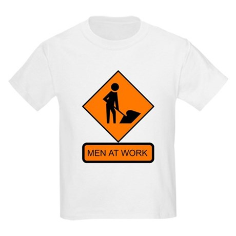 Men at Work 2 Kids T-Shirt