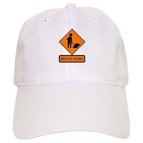 Men at Work Sign 2 - Cap