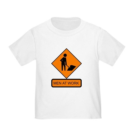 Men at Work Sign 2 - Toddler T-Shirt