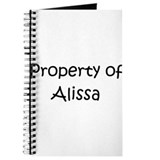 Funny Alissa Journal