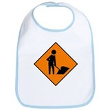 Men at Work Sign 3 - Bib