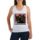 'Wild Dogs' Women's Tank Top With Backprint