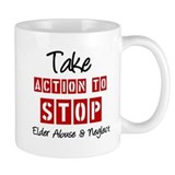 Elder Abuse Awareness Coffee Mug