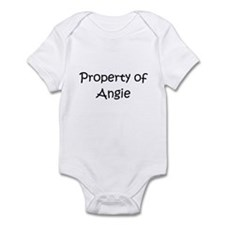 Cute Property of angie Infant Bodysuit
