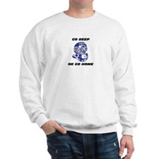 Cute Deep diving Sweatshirt