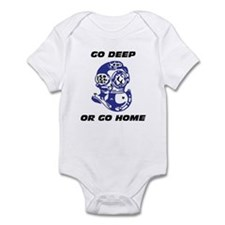 Cute Diver Infant Bodysuit