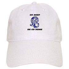 Funny Deep diving Baseball Cap