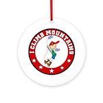 I Climb Mountains Sport Ornament (Round)