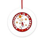 Basketball My Sport Ornament (Round)