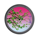 BUD BLOSSOMS 4 Wall Clock