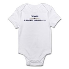 DENVER supports Sarah Palin Infant Bodysuit