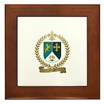FORGET Family Crest Framed Tile