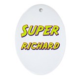 Super richard Oval Ornament