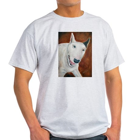 A Bull Terrier Ash Grey T-Shirt