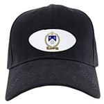 FONTAINE Family Crest Black Cap