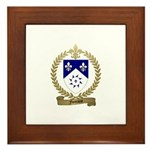 FONTAINE Family Crest Framed Tile