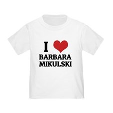 I Love Barbara Mikulski T