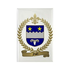 FISET Family Crest Rectangle Magnet (10 pack)