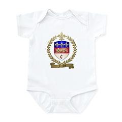 FERRAND Family Crest Infant Creeper