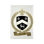FAVREAU Family Crest Rectangle Magnet