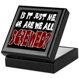 Are We All Screwed? Keepsake Box