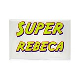 Super rebeca Rectangle Magnet (10 pack)