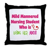 More Student Nurse Throw Pillow