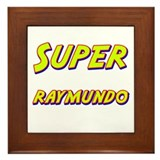 Super raymundo Framed Tile