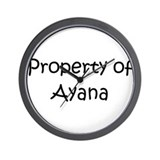 Cool Ayana Wall Clock