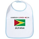 Somebody Loves Me In GUYANA Bib